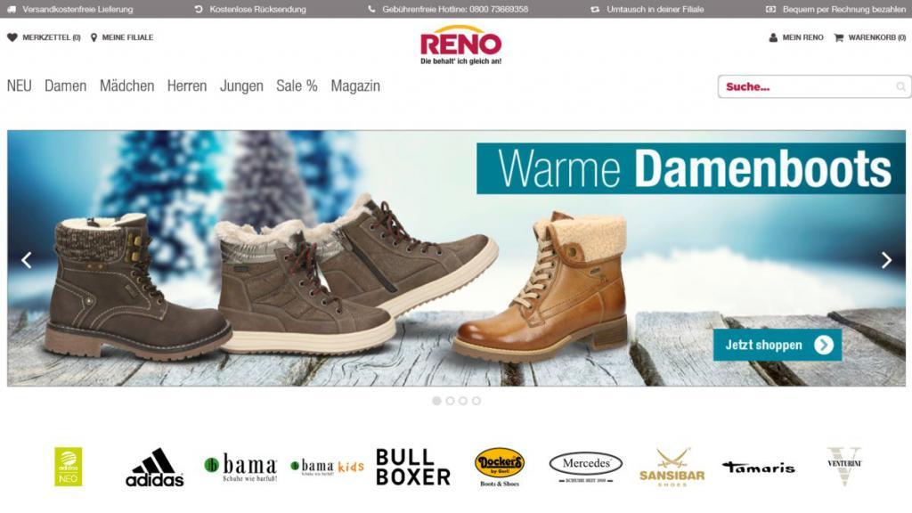 Schuhe online reno